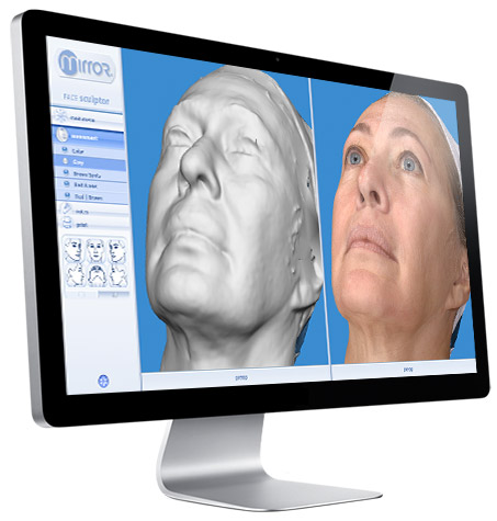 cosmetic surgery 3d imaging and planning